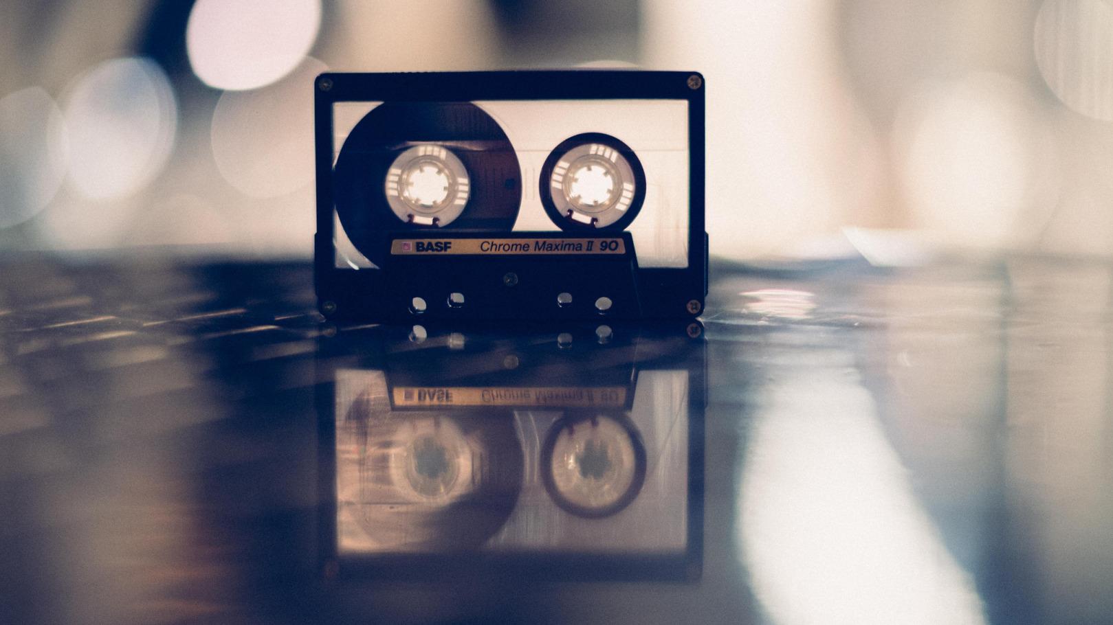basf-kasseta-muzyka-fon